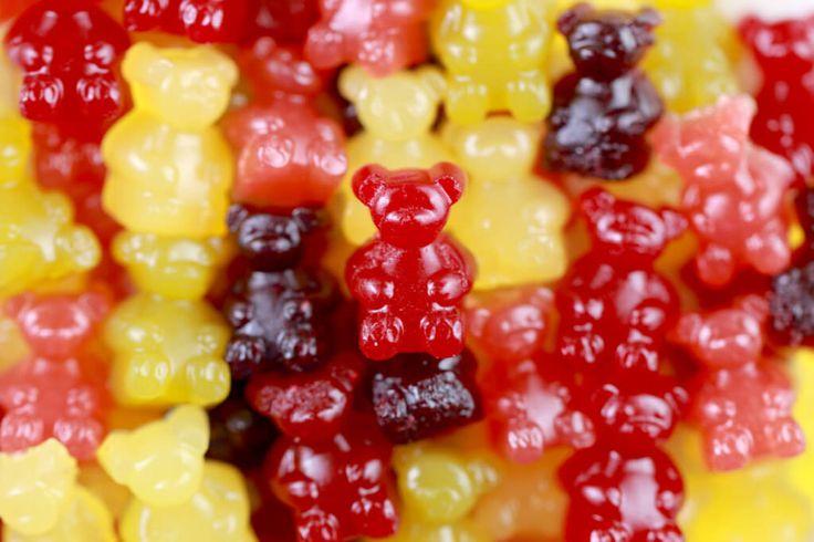 Homemade Gummy Bears (Real Fruit)