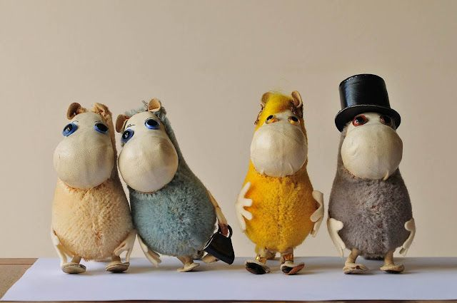 wish to buy the vintage Moomins...really hard to find