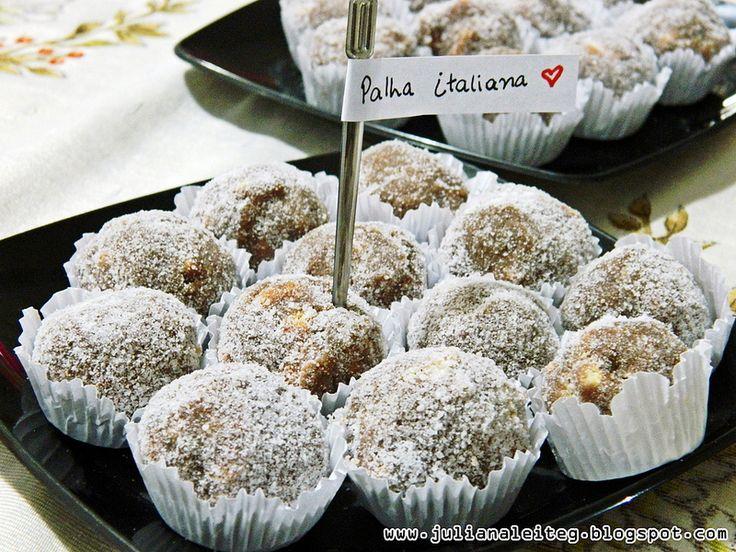 juliana leite makeup receita palha italiana como fazer brigadeiro diferente com biscoito maizena enrolados com açúcar delicioso doce para festa e diversão da família 1