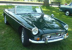MG MGB, ours will soon be on the road