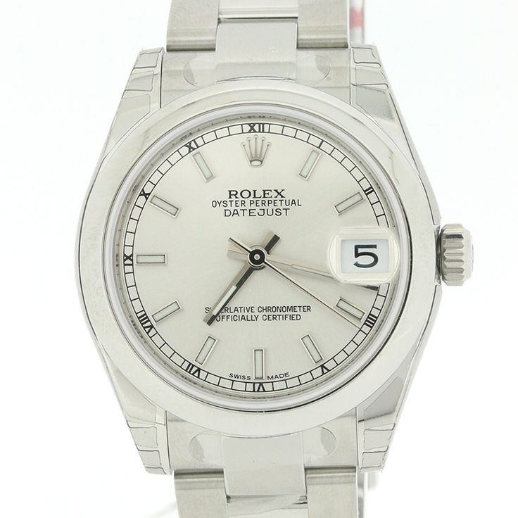 "ROLEX DATEJUST 178240 MIDSEIZE STAINLESS STEEL SILVER INDEX DIAL 31MM[Price]JPY 528,000 *Approximately US $4,750.94[Condition] ""EXCELLENT pre-owned condition"""