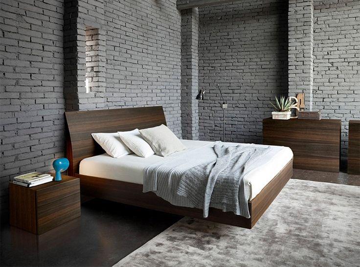 Vela Wooden Platform Bed by Rossetto - $1,199.00