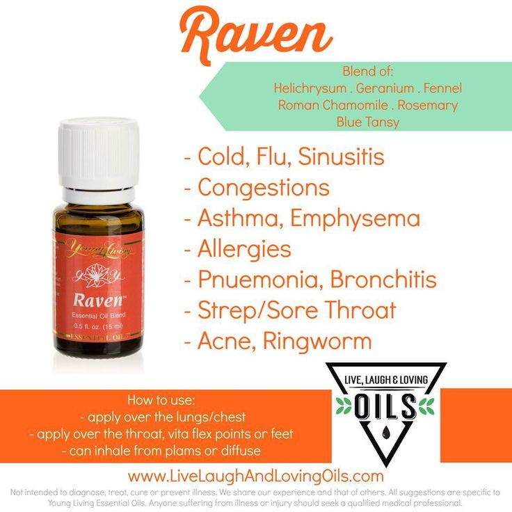 Young Living Raven Essential Oil Blend Young living