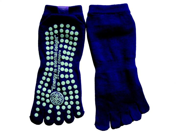 Organic Yoga Socks with Comfort + Traction