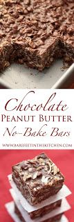 TRIED THESE. VERY RICH AND GOOD! Chocolate Peanut Butter Coconut Bars - get the recipe at barefeetinthekitchen.com