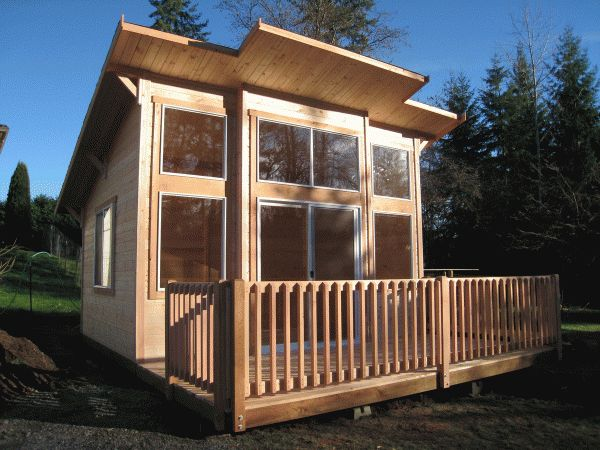 Pan Abode of Washington state offer a wide scope of sizes and styles including cabins that range from 120 square feet to just over 700 square feet. Their Mighty Cabana does not require a permit and come in at under 200 square feet.