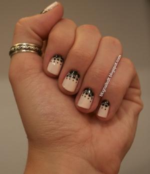 Nailed It.Black Lace, Nails Design, Nail, Design Ideas, Thumb Rings, Lace Nails Art, Stamps Nailart, Art Nails, Design