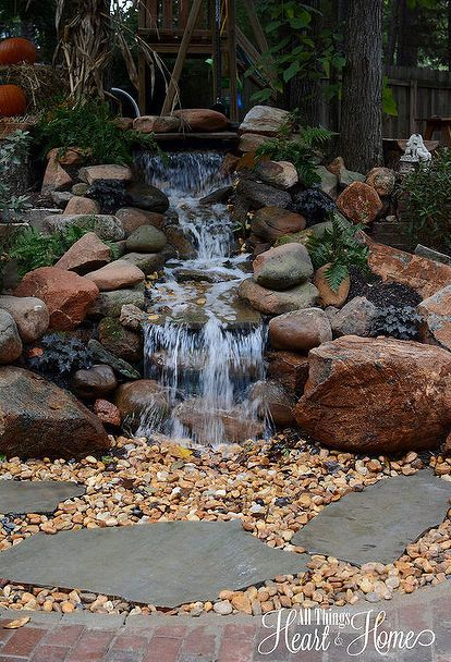 885 best backyard waterfalls and streams images on for Backyard streams and waterfalls