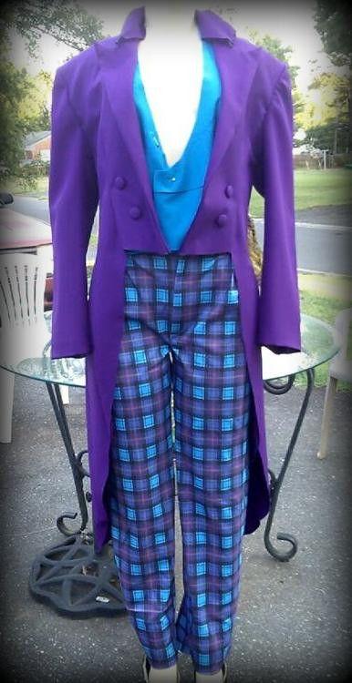 The Joker Dark Knight Costume - Tux, Vest, Tie and Pants