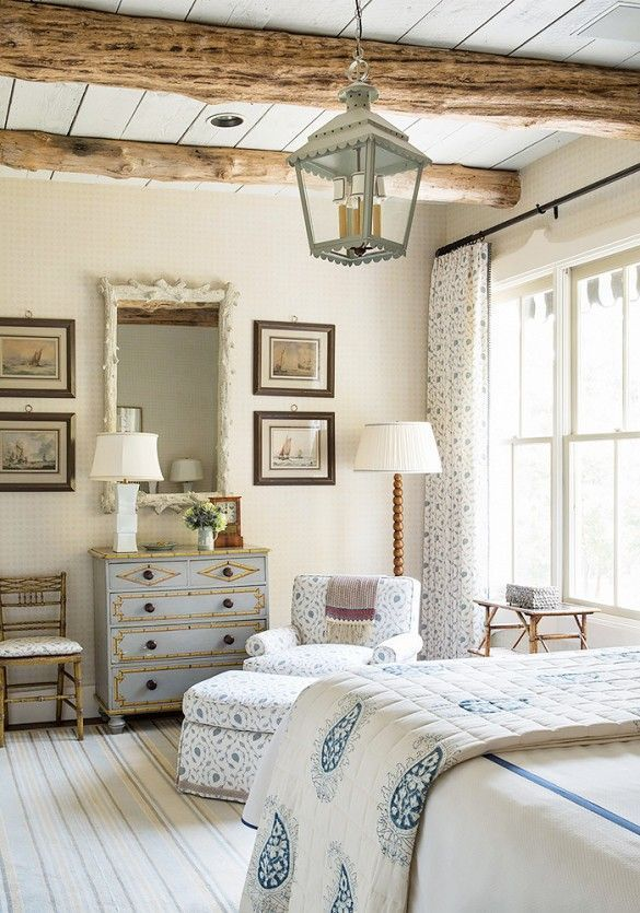 18 Stunning Spaces Where Pattern Rules Rustic Country Bedroomsfarmhouse