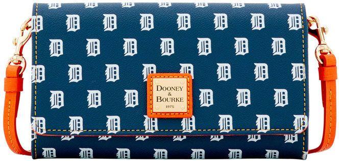 Dooney & Bourke MLB Tigers Daphne Crossbody Wallet