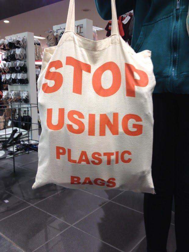 Keine Plastiktüten verwenden, wenn möglich! ©Foto: Sofia Delgado