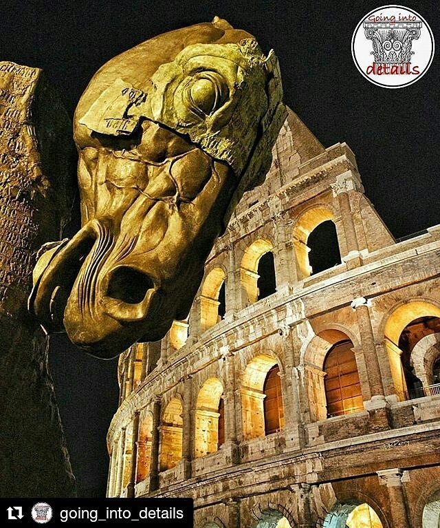 """""""Scultura del Cavallo di Gustavo Aceves al Colosseo"""" - Roma #photobydperry  #Repost @going_into_details with @repostapp  GOINGINTODETAILS .. We're pleased to rewardthe photo of @david_r_perry .. Feature chosen by @vezzigianpiero .. My congratulations to the photographer!  ________________________________________ @going_into_details Admin @alittlebluebow Mod @vezzigianpiero Valid tag #going_into_details  Only original photos please!  .. Friend Hub @arkitecture_details Valid tag…"""