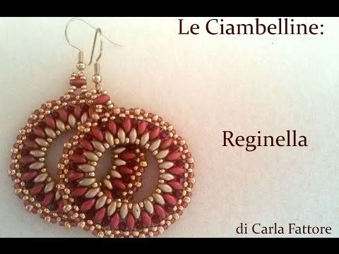 DIY Video Tutorial Orecchini Reginella in collaborazione con Perline e Gioielli - YouTube