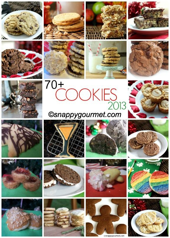 Best Christmas Cookies Recipes (70+ Recipes) | snappygourmet.com