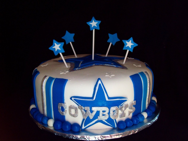 Dallas Cowboy Happy Birthday Cake