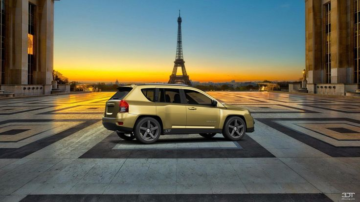 Checkout my tuning #Jeep #Compass 2012 at 3DTuning #3dtuning #tuning