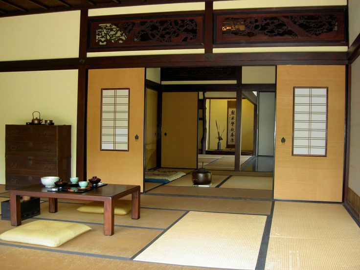 Traditional Japanese Living Room exteriors of japanese houses | japanese home design and japanese