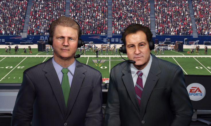 Madden NFL 16 Keeps Phil Simms and Jim Nantz as Commentators