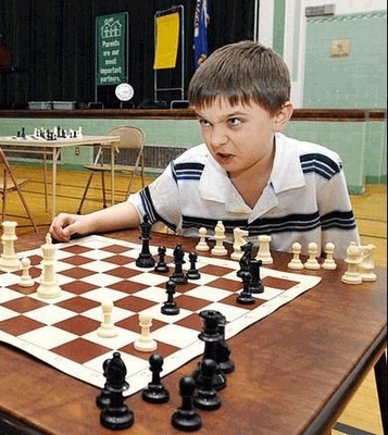 chess much purer than social position