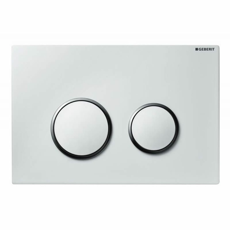 The #contemporary Geberit Sigma 20 Dual Flush Cistern Plate. Concealed Toilet Cisterns & Buttons from UK Bathrooms
