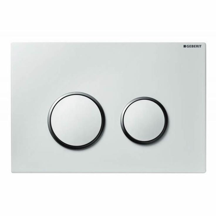 The #contemporary Geberit Sigma 20 Dual Flush Cistern Plate ...