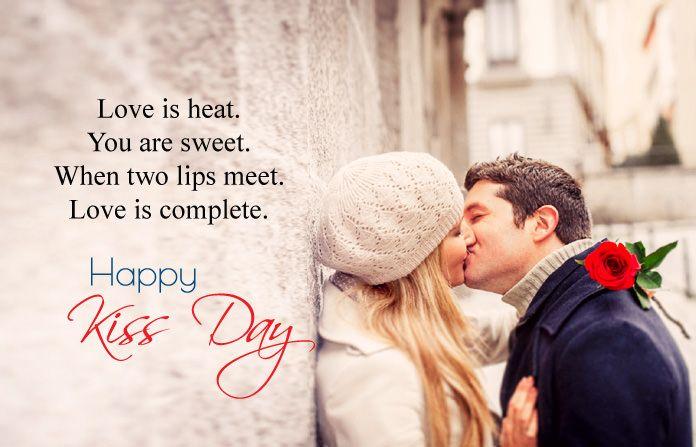 Happy Kiss Day Images With Quotes Shayari 13th Feb Kissing Hd