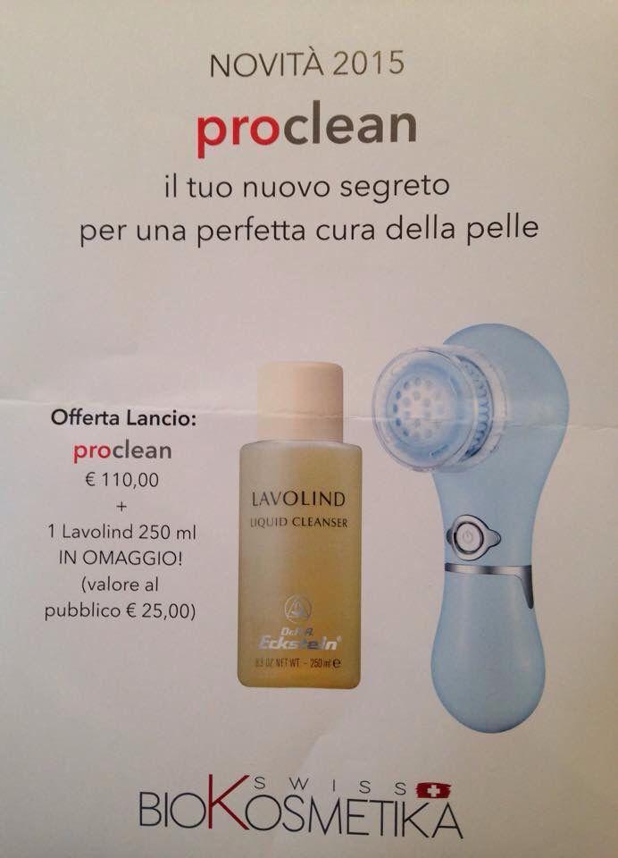 #LaFonteDelBenessere #Estetica #Torino C.so #Allamano 55 #proclean #cura #pelle #derma #lavolind #cleanser #eckstein #kosmetik #cosmetica #biokosmetika #bellezza #benessere #offerta #beauty