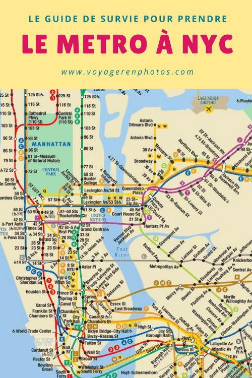 The survival guide to use the New York subway