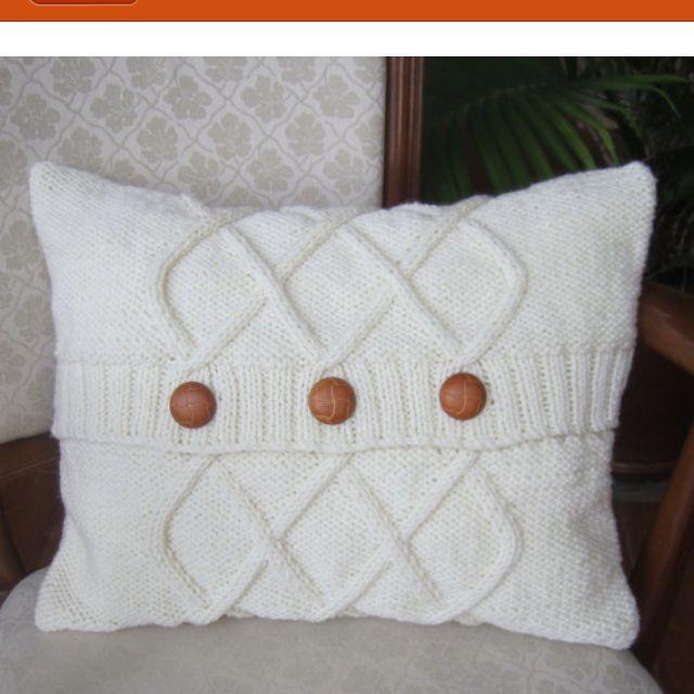 Round Knit Pillow Covers Vintage Knit Crochet Shop Talk Round