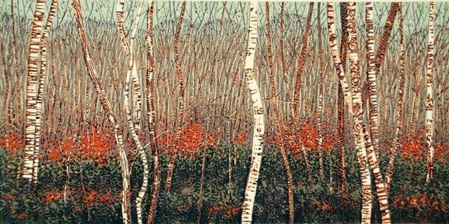 Mark A Pearce - original linocut prints | Mark A Pearce
