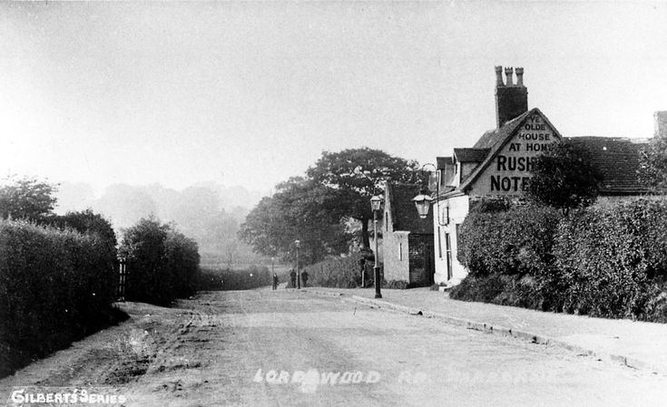 Lordswood Road, Harborne, in times gone by, date unknown