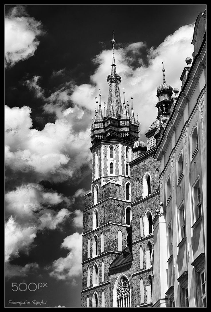 Basilica of St Mary in Kraków (Poland) - Basilica of St Mary in Kraków (Poland)