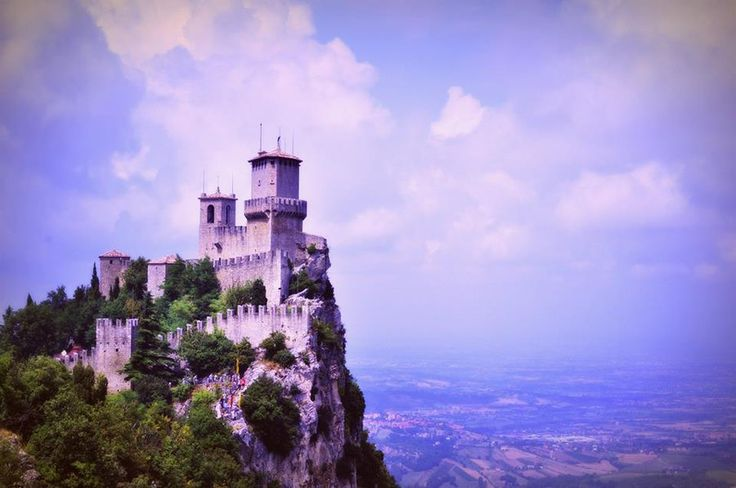 San Marino Castle by ElenaCute.deviantart.com on @deviantART