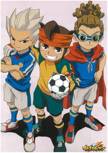 Goenji, Endou and Kidou - Inazuma Eleven