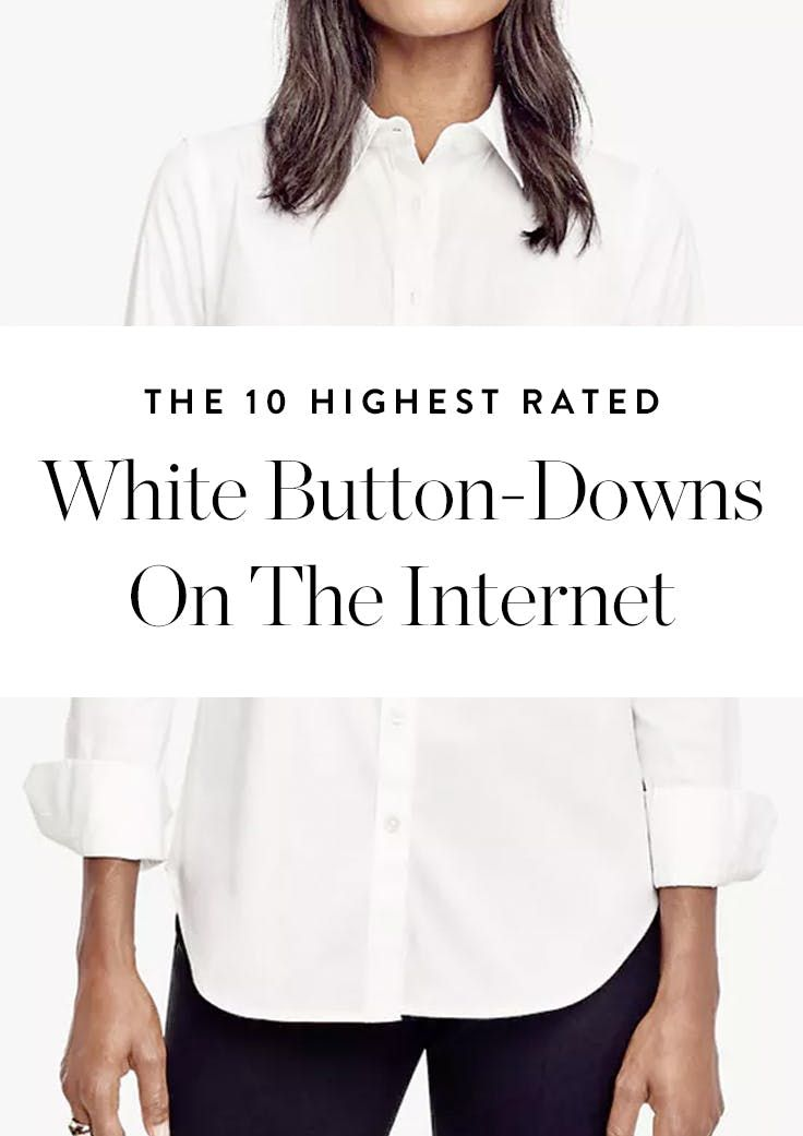 The Internet Has Spoken: These Are the 10 Best White Button-Downs #purewow #shopping #fashion #style