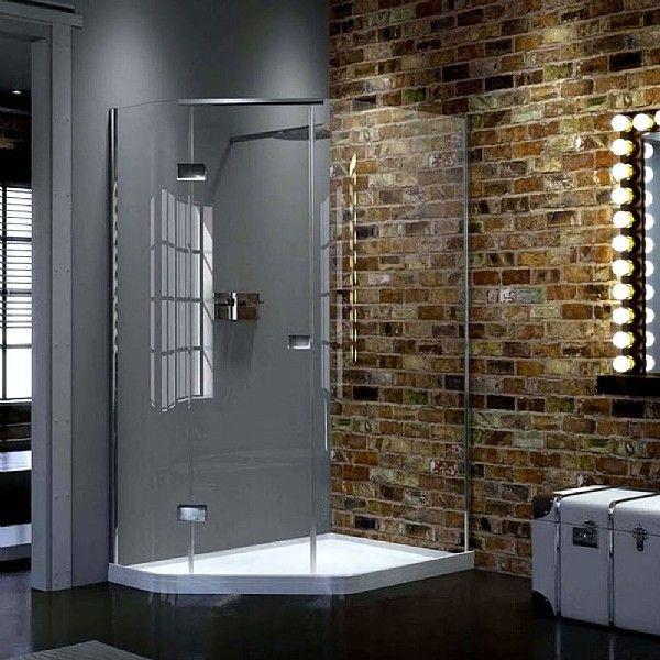 Matki New Illusion Quintesse Offset Corner Enclosure With Raised Tray | Shower Enclosures | CP Hart