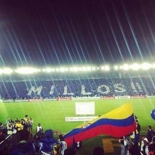 En el partido contra Tigre