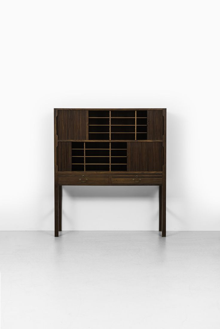 Ole Wanscher cabinet in mahogany by A.J. Iversen at Studio Schalling