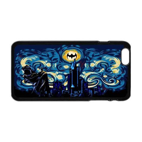 Batman Starry Night apple iphone 6 plus case cover. #accessories #case #cover #hardcase #hardcover #skin #phonecase #iphonecase #iphone6plus #iphone6pluscase #movie #batman #dezignercase