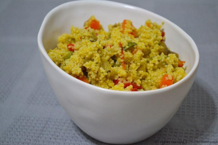 Cous cous alle verdure Bimby #ricettebimbynet