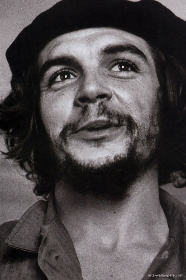"Ernesto ""Che"" Guevara (1928 –1967) died at the age of 39. He was an Argentine Marxist revolutionary, physician, author, guerrilla leader, diplomat, and military theorist. A major figure of the Cuban Revolution, his stylized visage has become a ubiquitous countercultural symbol of rebellion and global insignia within popular culture. ""Be realistic, demand the impossible!"""