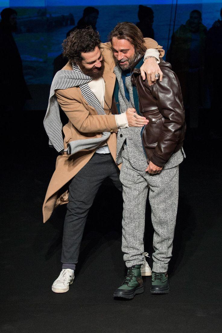 Umit Benan Fall 2015 Menswear Fashion Show - Umit Benan