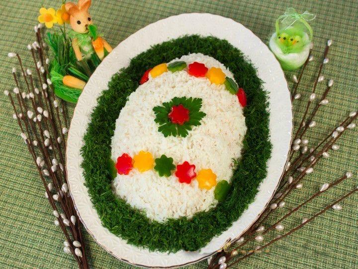 Салат «Пасхальное яйцо» » Женский Мир