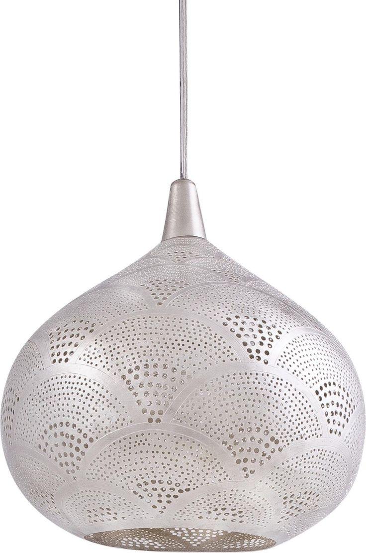 Hanglamp Loaf - Oosters - Fan - Zilver - Mini - Zenza