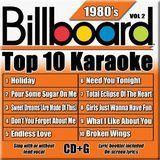 Billboard Top 10 Karaoke: 1980's, Vol. 2 [CD]