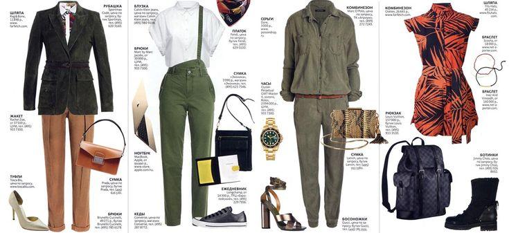 Одежда в стиле сафари