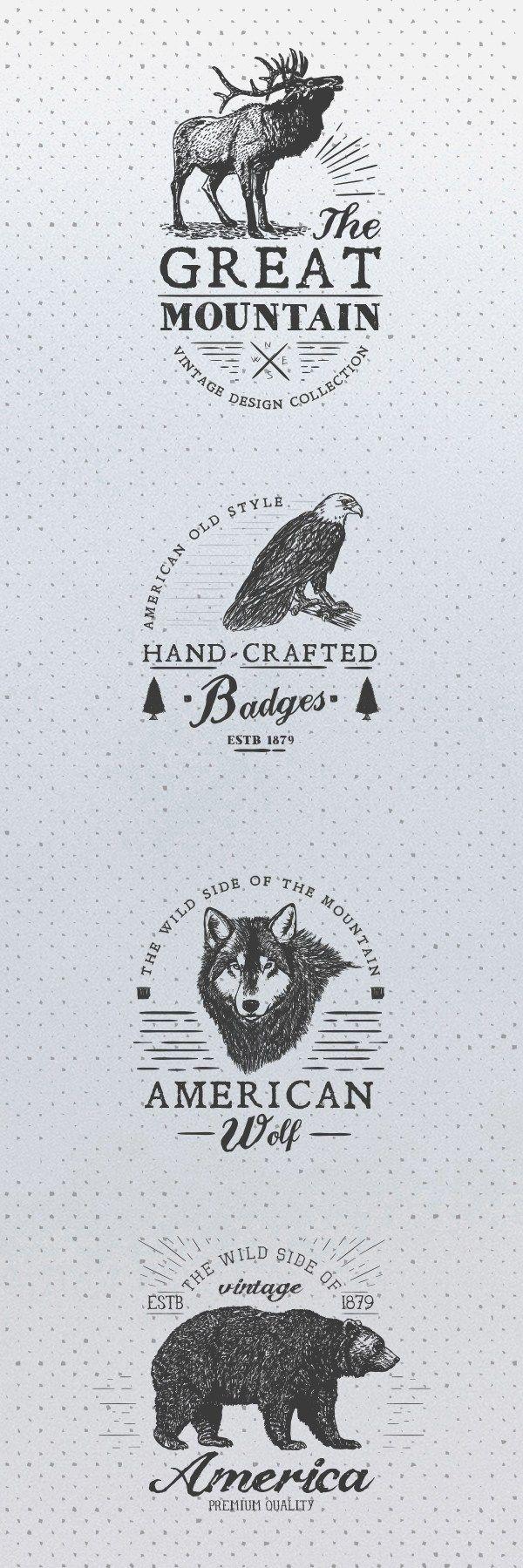 17 Free Animal rustic Logos