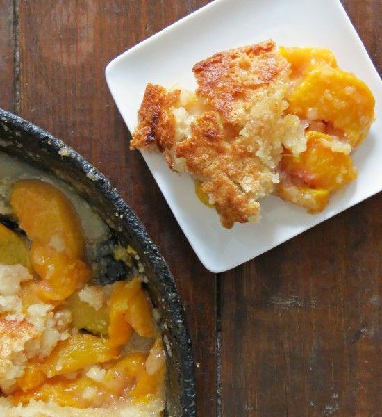 Easy Skillet Peach Cobbler Recipe - Written Reality
