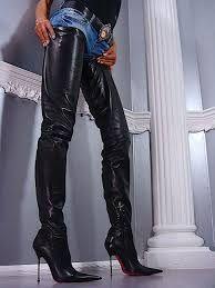 crotch boots